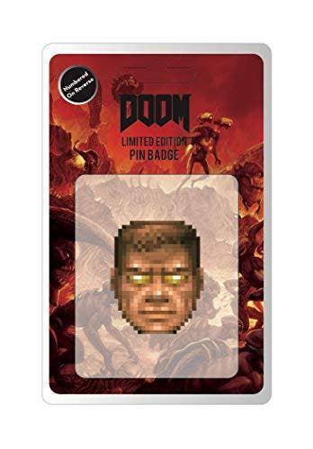 Doom Limited Edition Pin Badge