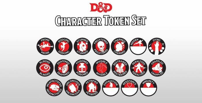 Character Token Set