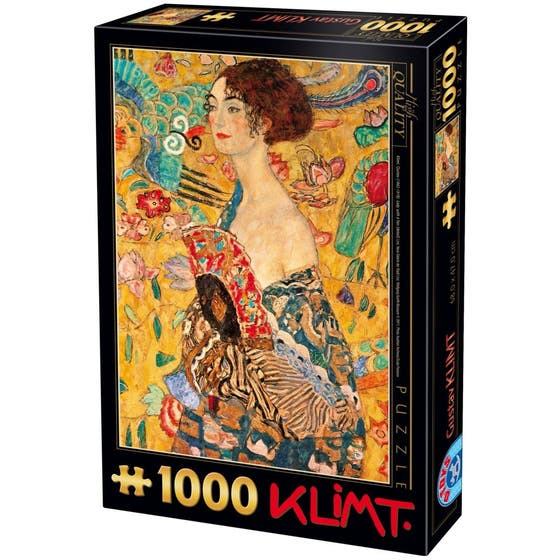 Woman with Fan Puzzle (1000)