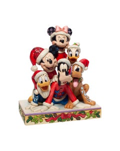 Piled Hight With Holiday Cheers Figurine 15cm