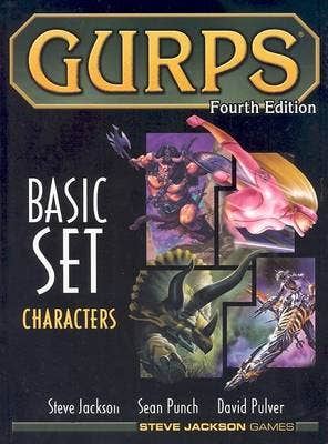 GURPS Fourth Edition Basic Characters