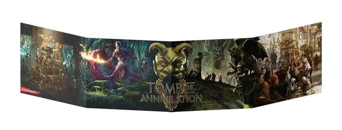 Dungeon Master's Screen Tomb of Annihilation