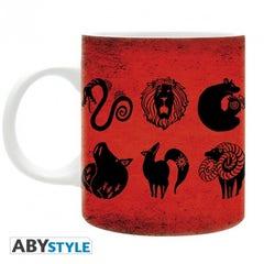 Seven Deadly Sins Emblems Ceramic 12 Oz Mug
