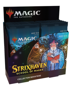 Strixhaven School of Mages Collector's Booster Display Box