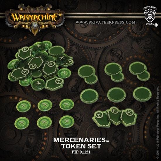 Mercenaries Token Set