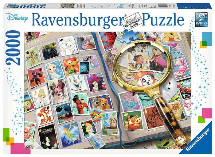 My Favorite Disney Stamps Puzzle (2000)