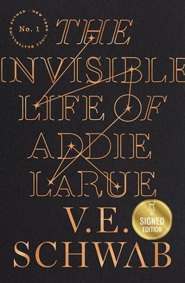 Invisible Life of Addie LaRue Signed Edition HC