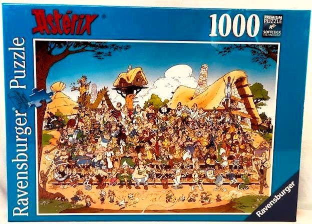 Asterix and Obelix Family Picture Puzzle (1000)
