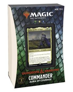 Aura Of Courage Adventures in the Forgotten Realms Commander Deck