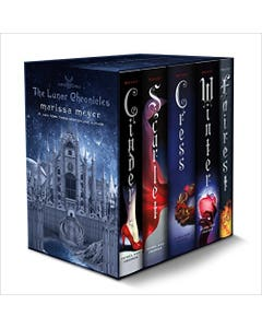 The Lunar Chronicles Boxed Set: Cinder, Scarlet, Cress, Fairest, Winter
