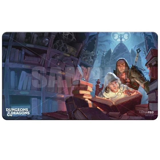 D&d Candlekeep Mysteries Cover Art Playmat