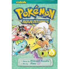 Pokemon Adventures (Red and Blue), Vol. 6