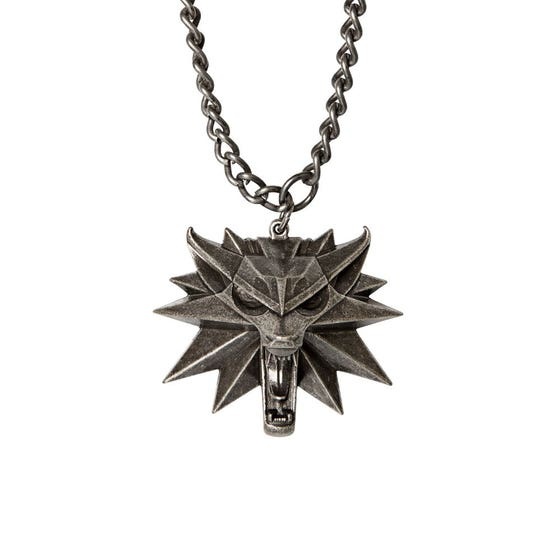 Wolf Medallion and Chain