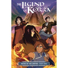 Legend Of Korra, The: Ruins Of The Empire Part One
