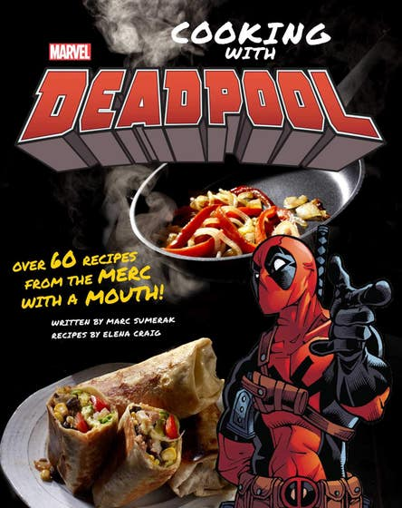 Marvel Comics Cooking With Deadpool