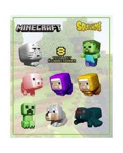 Minecraft Squishme 24pc Bmb Ds