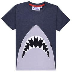 Jaws Applique Kid's T-Shirt (5-6 Years)