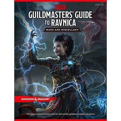 Dungeons & Dragons Guildmasters' Guide to Ravnica Maps and Miscellany