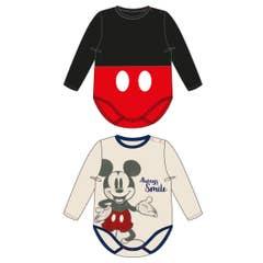 Mickey Babybody 2-Pack (68)