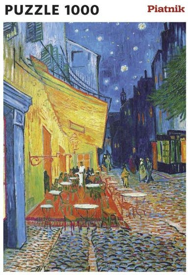 Cafe Terrace at Night Puzzle (1000)