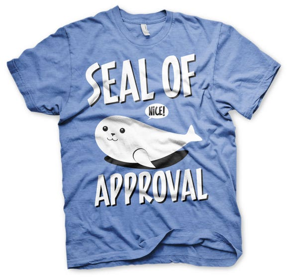 Seal of Approval T-Shirt (XL)