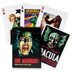 Horror Movie Playing Cards