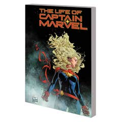 The Life of Captain Marvel Quesada Variant