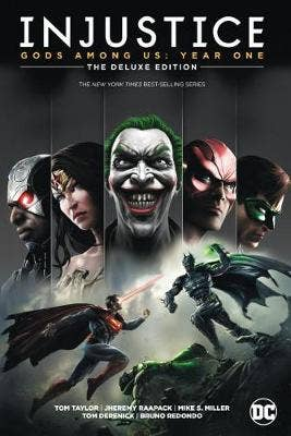 Injustice: Gods Among Us: Year One: The Deluxe Edition: Book One