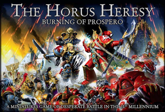 The Horus Heresy Burning of Prospero