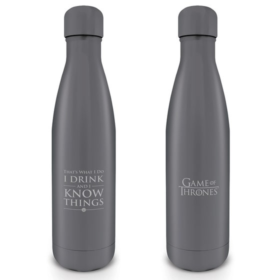 I Drink and I Know Things Metal Drink Bottle 500 ml
