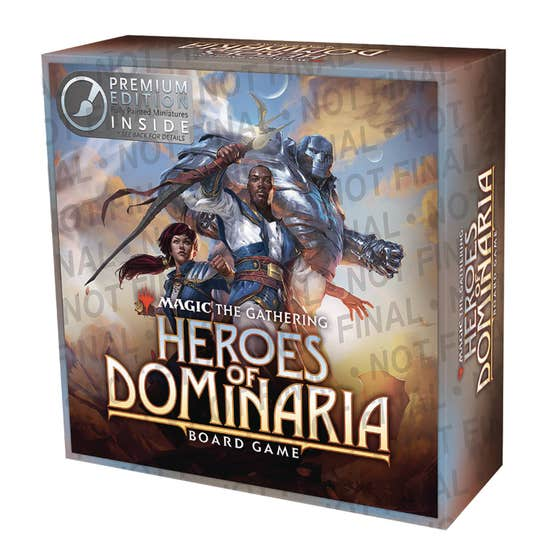 Mtg Heroes of Dominaria Board Game Standard Edition