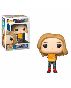 Captain Marvel w/ Lunch Box POP! Marvel Vinyl Figure