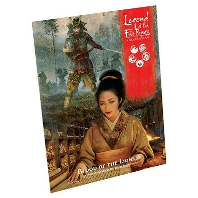 Legend of the Five Rings Blood of the Lioness