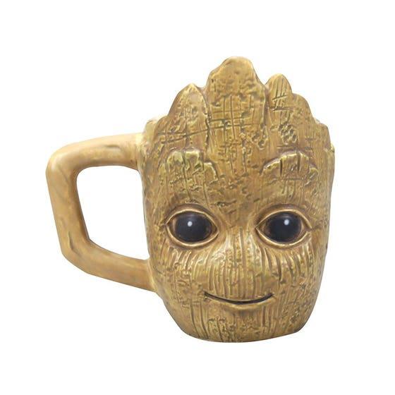 Groot Shaped Mini Mug