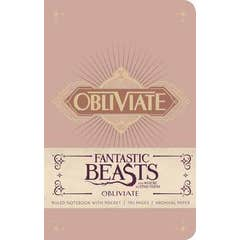 Fantastic Beasts and Where to Find Them: Obliviate Hardcover Ruled Notebook