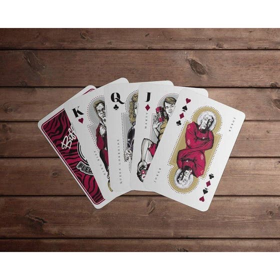 Back to the Future Playing Cards