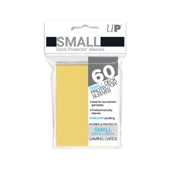 Small Size Yellow Deck Protector Sleeves (60)