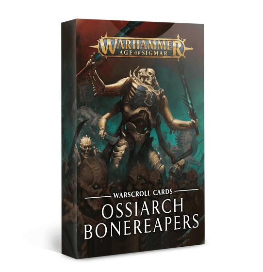 Warscroll Cards Ossiarch Bonereapers