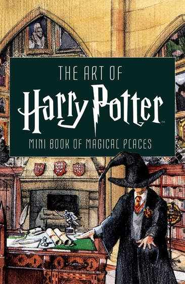 Art of Harry Potter: Mini Book of Magical Places