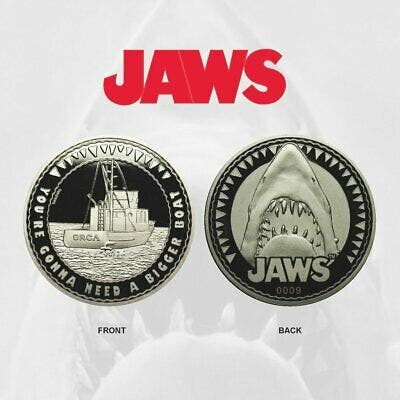 Jaws Limited Edition Collectible Coin