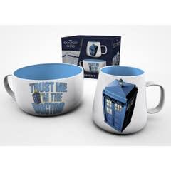 TARDIS Breakfast Set