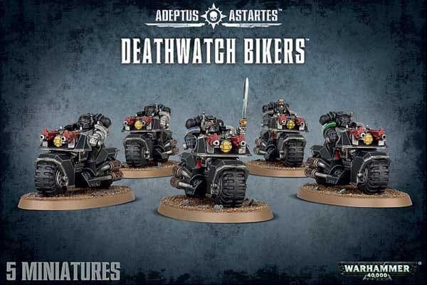 Deathwatch Bikers