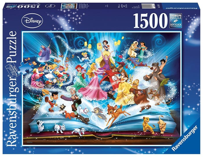 Disney's Magical Storybook Puzzle (1500)
