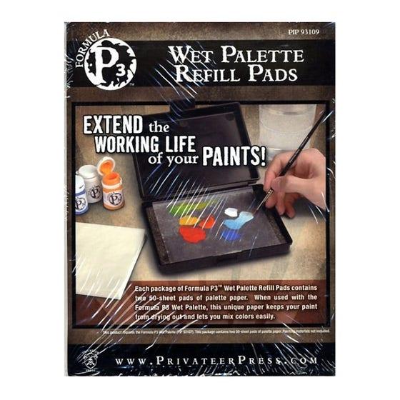 Wet Palette Refill Pads P3