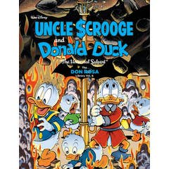 """Walt Disney Uncle Scrooge and Donald Duck: """"the Universal Solvent"""": The Don Rosa Library Vol. 6"""
