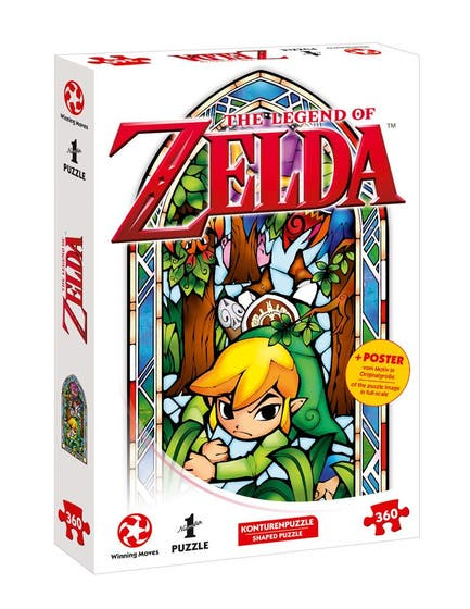 Link With Boomerang Puzzle (360)