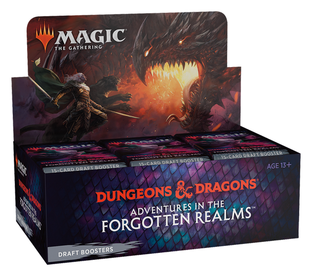 Adventures in the Forgotten Realms Draft Booster Display Box