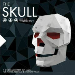 The Skull - Designed by Wintercroft: A charismatic press-out mask for parties and everyday wear