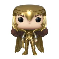 Gold Power Pose Wonder Woman POP! Heroes Vinyl Figure