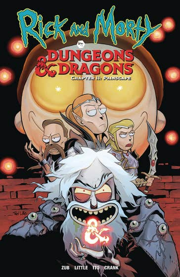 Rick and Morty vs. Dungeons & Dragons II, Volume 2: Painscape
